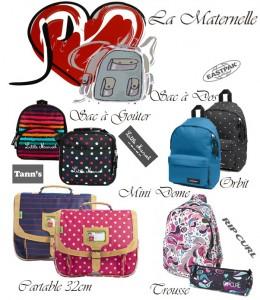 Primary school : Choose and prepare your school bag !