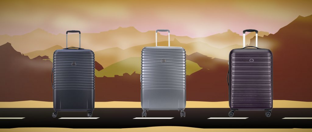 Delsey suitcases summer classic