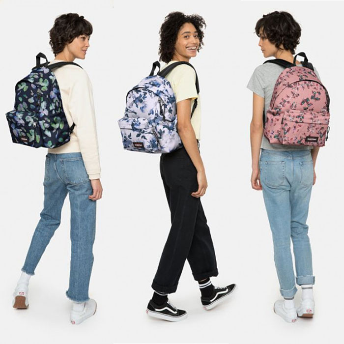sacs scolaires eastpak padded pak'r romantic series