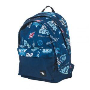 sac à dos collège rip curl heritage logo bleu
