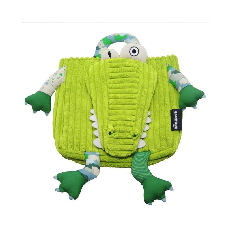 cartable maternelle animal vert