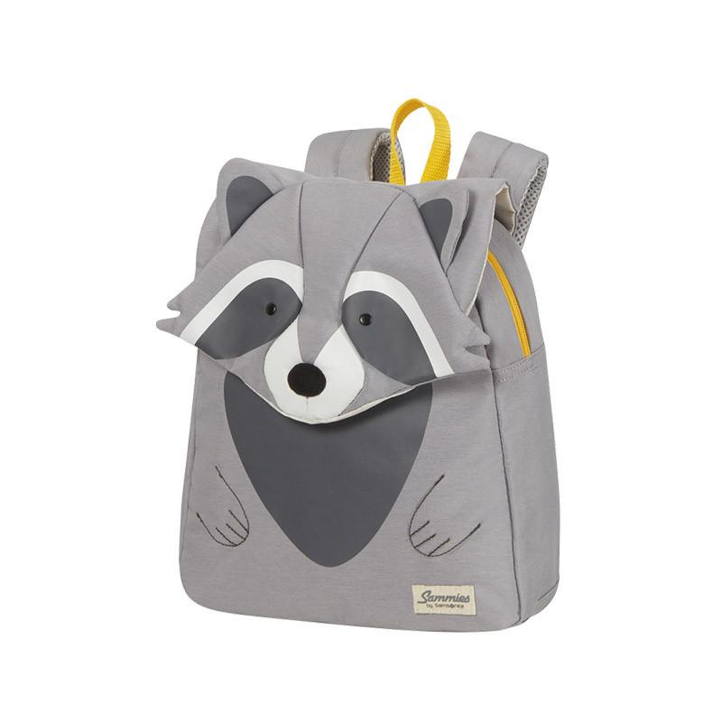 cartable pour la maternelle raccoon gris