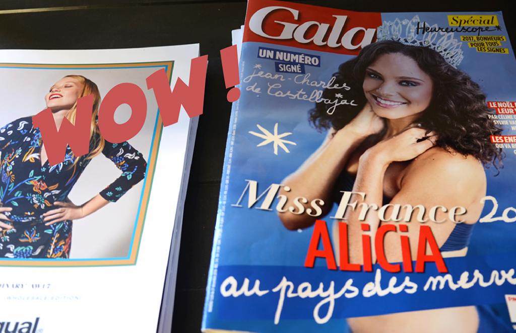 Maroquinerie Noix d'Arec dans Gala Magazine